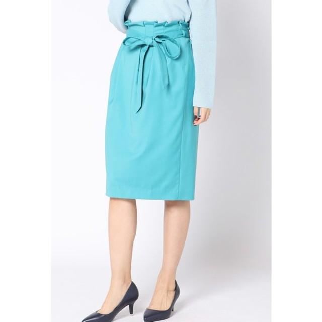 VICKY / ウエストタックベルト付スカート