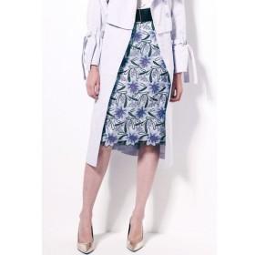VICKY / フラワー刺繍タイトスカート