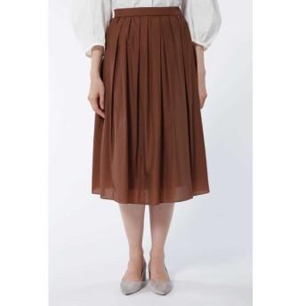 HUMAN WOMAN ヒューマンウーマン / 《arrive paris》タック&ギャザースカート