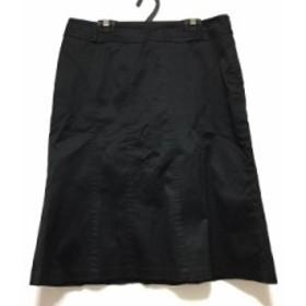 クミキョク 組曲 KUMIKYOKU スカート サイズ5 XS レディース 黒【中古】