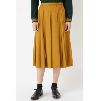 HUMAN WOMAN / ウールジャージプリーツスカート