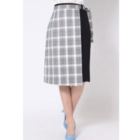 QUEENS COURT / 【2way】ラップ風スカート