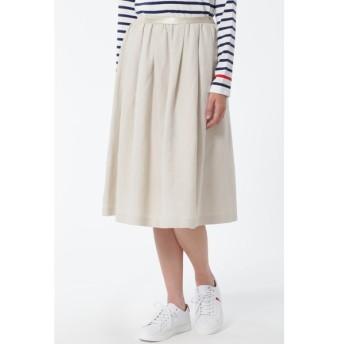 HUMAN WOMAN / W/麻ツイルスカート