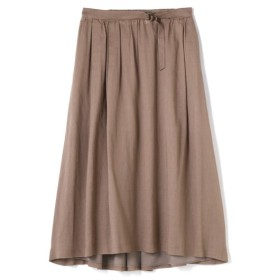 HUMAN WOMAN / 綿麻ボイルスカート