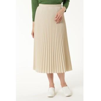 HUMAN WOMAN / C/Peポプリン プリーツスカート