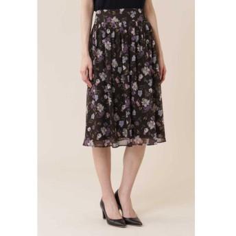 NATURAL BEAUTY / ボタニカルプリントスカート