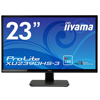 iiyama製 23型液晶ディスプレイ「iiyama ProLite XU2390HS-B3」