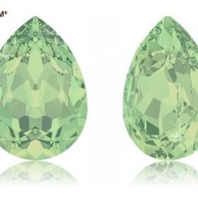 【スワロフスキー#4320】90粒 Pear-shaped 8x6mm クリソライトオパール (294) F