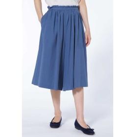 HUMAN WOMAN / コットンリヨセルギャザーキュロットスカート