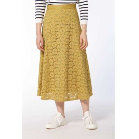 HUMAN WOMAN / フラワーレーススカート