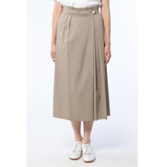 HUMAN WOMAN / テンセルナイロンツイルスカート