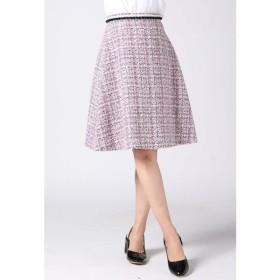 QUEENS COURT / 【受注会限定】ブレード付きファンシーフレアスカート