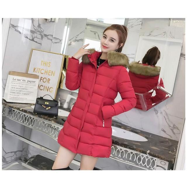 新品 韓国スタイル レディース ジャケット 厚手 秋冬物 ダウンコート 暖かい 通勤OL 中綿