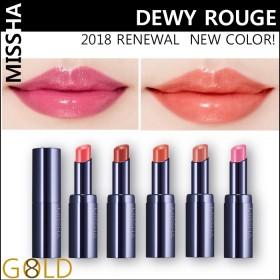 [MISSHA] 2018新製品 RENEWAL デューイルージュ Dewy rouge 15 colors (3.3g)