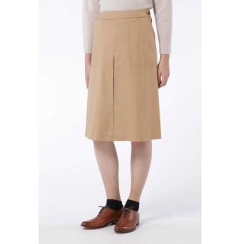 HUMAN WOMAN ヒューマンウーマン / ウールフラノ台形スカート