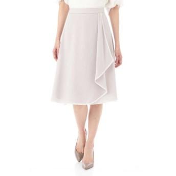 NATURAL BEAUTY / [洗える]スポンジジョーゼットスカート