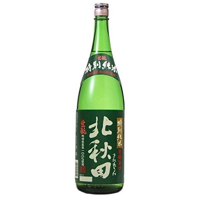 送料無料 ケース販売 北秋田 特別純米酒 1800ml×6本 /北海道・沖縄県・東北・四国・九州地方は必ず送料が掛かります