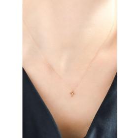 Phoebe / 【K10】クロスダイヤモンドネックレス