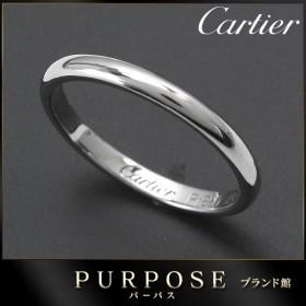 カルティエ Cartier クラシック #49 リング Pt950 幅2mm プラチナ 指輪 【証明書付き】