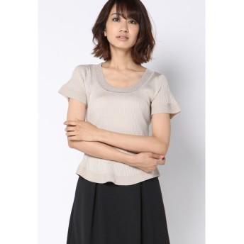 ketty / 【予約限定商品】アジサイリブフレアニットプルオーバー