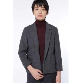 HUMAN WOMAN / ブリティッシュウールカノコジャケット