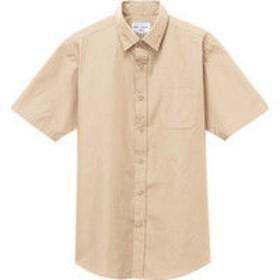 チトセ EP8356 シャツ(半袖)[兼用] LL EP8356_C-74サンドベージュ_LL (取寄品)
