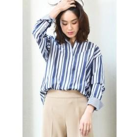 LAUTREAMONT / カラーストライプビッグシャツ