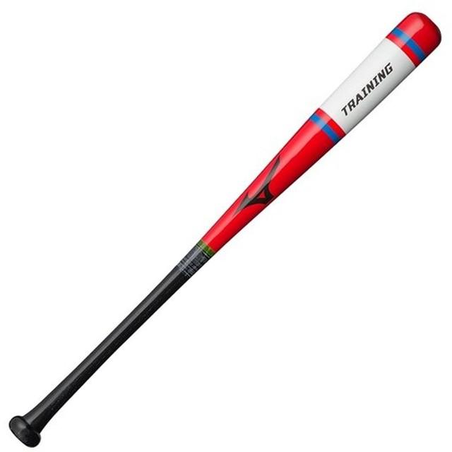 ミズノ 少年軟式木製打撃可トレーニング バット 1CJWT162786201