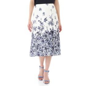 NATURAL BEAUTY / [ウォッシャブル]《Purpose》フローラルプリントスカート