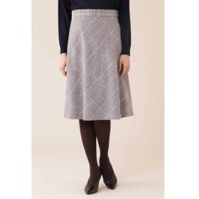 NATURAL BEAUTY / カラーチェックツィードスカート