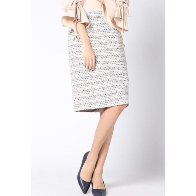 VICKY / ツィードタイトスカート