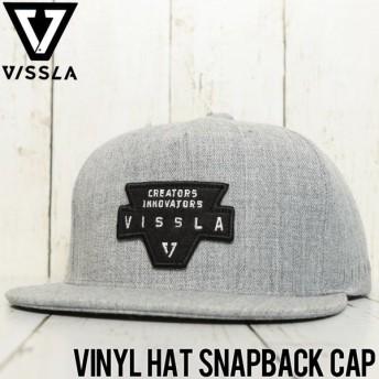 VISSLA ヴィスラ VINYL HAT SNAPBACK CAP スナップバックキャップ MAHTJVIN GRH