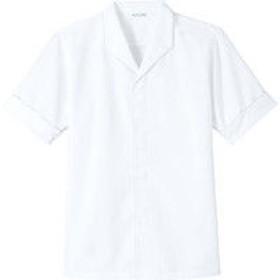 チトセ DN8209 白衣(半袖)〔兼用〕 L DN8209_C-1白_L (取寄品)