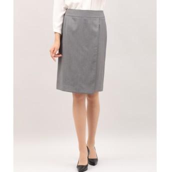 INED / シルクウールラップ風スカート