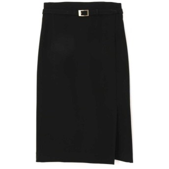PINKY&DIANNE / ダブルサテンスリムベルト付きスカート