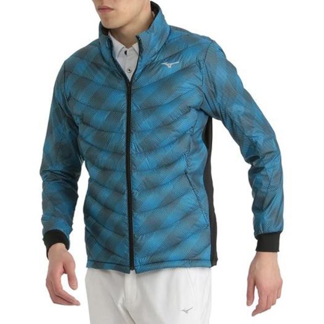 メンズ ジャケット テックフィルムーブウォーマー 太陽光熱変換プリント・ブレスサーモ入り(XLサイズ/ハワイアンオーシャン)52ME8504
