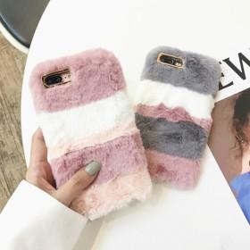 スマホケース - marcydorn スマホケース 淡色もふもふiPhoneケース