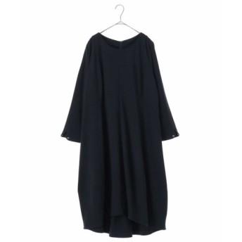 HIROKO BIS GRANDE / 【洗える】コクーンシルエットジャージードレス