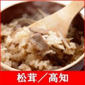 (釜付セット)全国名選陶器本釜めし(松茸/高知) 釜飯セット 釜飯の素 早炊米