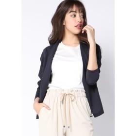 Viaggio Blu / 【洗濯機OK・接触冷感】バックシャーリングカットジャケット