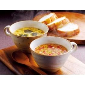 豊橋飼料 名古屋 コーチン たまご スープ  フリーズドライ 和風 洋風 各5食 計10食 セット 送料無料 産地 直送