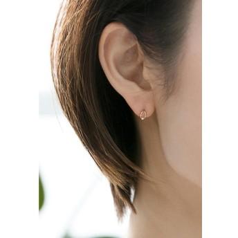 Phoebe / 【K10】リーフダイヤモンドピアス