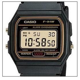 【箱なし】【メール便選択で送料無料】海外CASIO 海外カシオ 腕時計 F-91WG-9 メンズ 男女兼用 STANDARD スタンダードモデル クオーツ