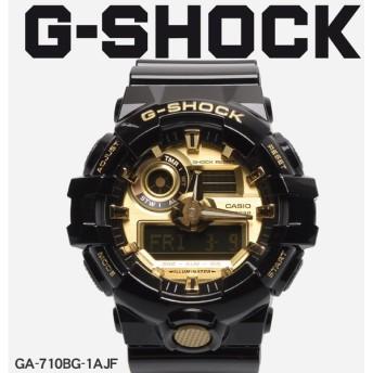 【お取り寄せ商品】 G-SHOCK ジーショック CASIO カシオ 腕時計 GA-710 GA-710GB-1AJF