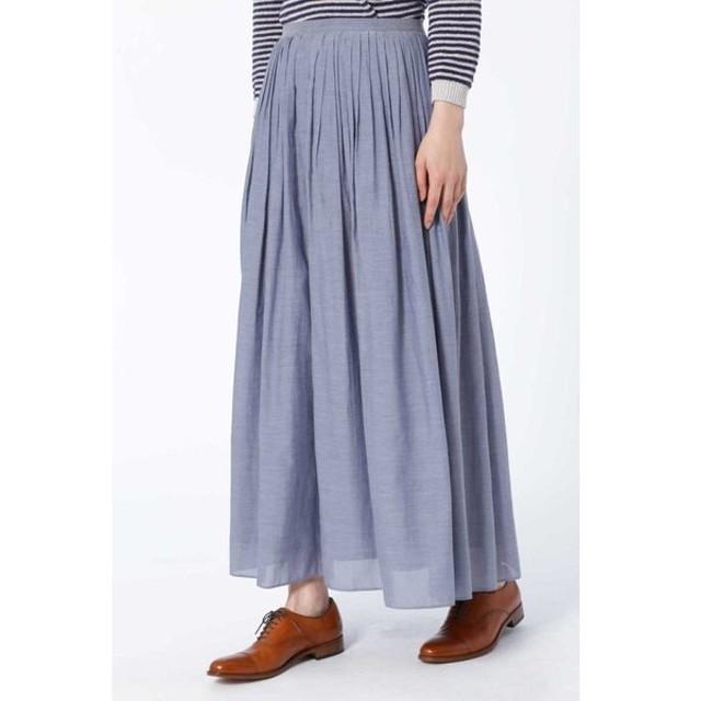 HUMAN WOMAN / ウエストタックギャザースカート