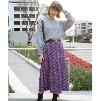 カットソー - Libby & Rose 刺繍ロゴボリューム袖プルオーバー