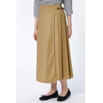 HUMAN WOMAN ヒューマンウーマン / 《arrive paris》サイドプリーツスカート