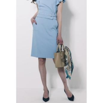 Viaggio Blu / 【セットアップ対応】コルセットベルト付きパールニットタイトスカート