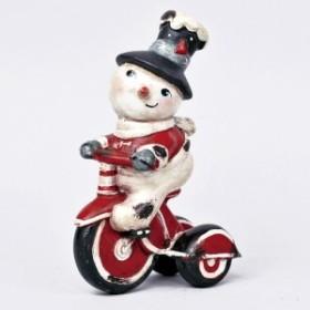 素敵なクリスマス 素敵なレトロスノーマン トライシクル