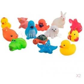 SONONIA 26個  動物形 ベビー 風呂きしむ シャワー バス玩具 贈り物 多彩